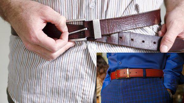 cách sử dụng thắt lưng, Những cách sử dụng thắt lưng khiến phái mạnh trở nên phản cảm