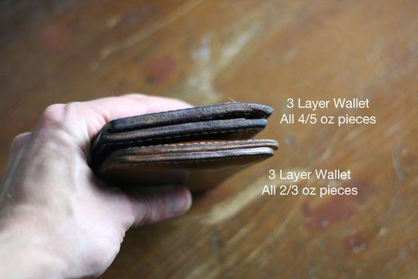 Ví nam bifold, 4 mẹo quan trọng khi làm một chiếc ví nam Bi Fold