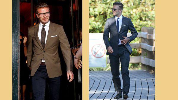 cách sử dụng thắt lưng nam, Cách sử dụng thắt lưng nam chuẩn như David Beckham
