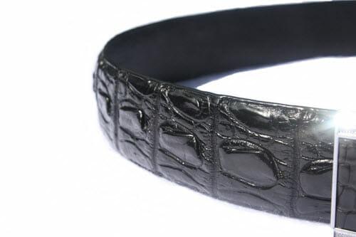 dây nịt da cá sấu chính hãng, Cách nhận biết dây nịt da cá sấu chính hãng hay fake