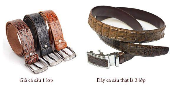 dây nịt da cá sấu, Cách lựa chọn dây nịt da cá sấu phù hợp