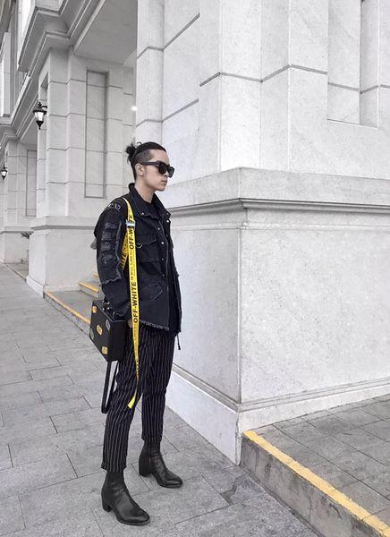 dây nịt off white, Kelbin Lei – người khởi xướng với chiếc dây nịt Off White