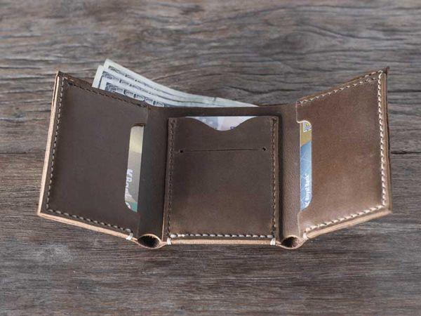 mua ví da nam, Những lưu ý khi mua ví da nam dạng gập 3