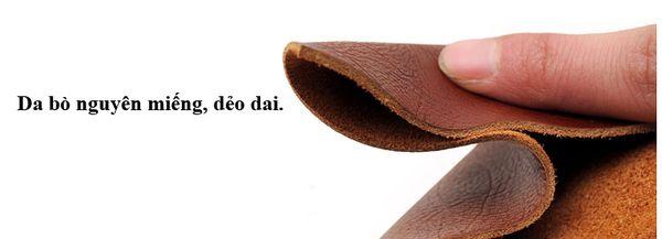 dây nịt da bò, Dây nịt da bò nguyên miếng bán chạy nhất 2020