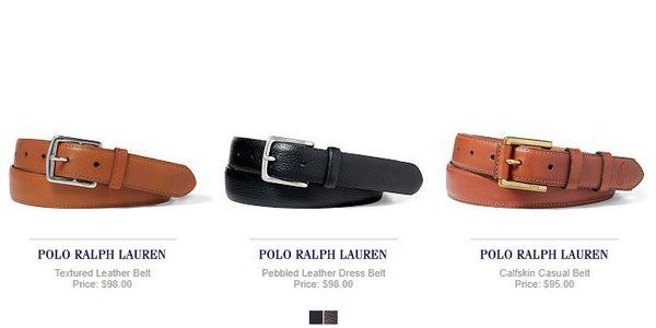 thắt lưng nam Ralph Lauren, Thắt lưng nam Ralph Lauren có gì đặc biệt?