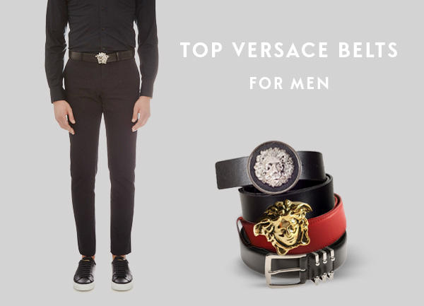 mặt dây nịt nam versace, Top mặt dây nịt nam Versace hot nhất 2020