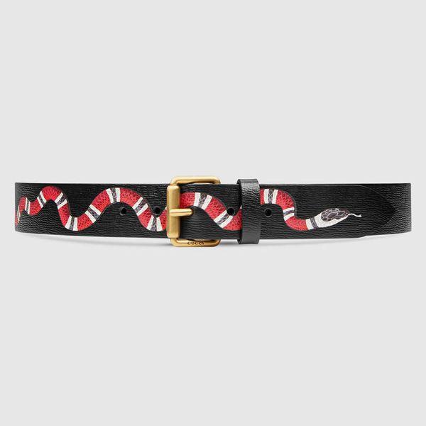 dây nịt Gucci nam hàng hiệu, Ý nghĩa của họa tiết rắn trên dây nịt Gucci nam hàng hiệu