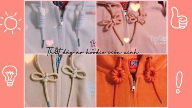 cách buộc dây áo hoodie, Hướng dẫn cách buộc dây áo Hoodie sành điệu và phong cách