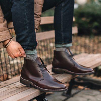 áo thun nam có cổ, TIP phối áo thun nam có cổ với quần và giày theo từng sở thích