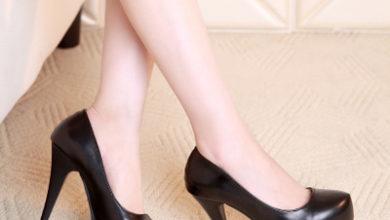 giày cao gót mũi tròn