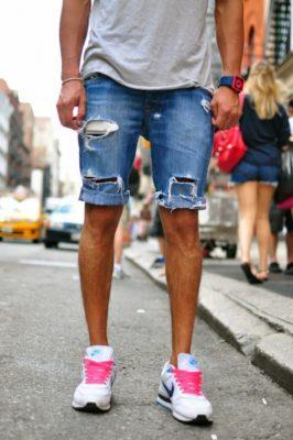 mặc quần short mang giày gì, Mách bạn cách mặc quần short mang giày gì cho nam và nữ
