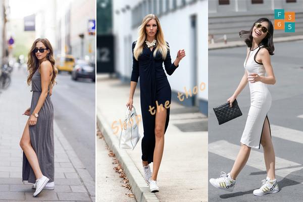 mix đồ với giày thể thao, TIP match mix đồ với giày thể thao thật NỔI BẬT cho các cô nàng