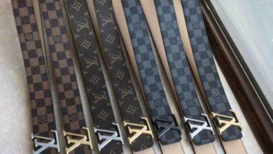 thắt lưng louis vuitton, Thắt lưng Louis Vuitton chính hãng làm sao để phân biệt với thắt lưng giả