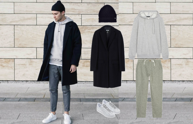 áo hoodie nam cao cấp, MÊ MẪN cùng cách phối đồ với áo hoodie nam cao cấp CỰC CHẤT
