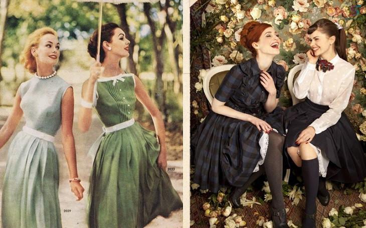 vintage, Bí kíp phối đồ theo phong cách VINTAGE cực xinh xắn và đáng yêu