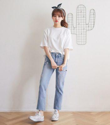 quần jean, Bí kíp phối đồ với quần jean ĐẸP – SÀNH ĐIỆU cho các nàng