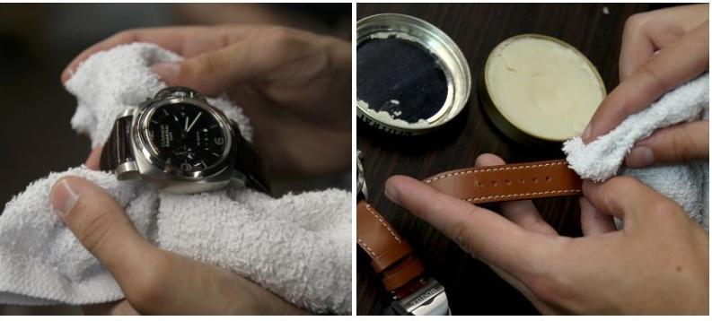cách vệ sinh dây da đồng hồ, Cách vệ sinh dây da đồng hồ cực đơn giản chỉ với 5 bước