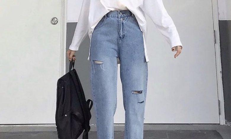 quần jean baggy nữ