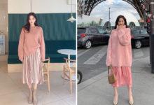 hồng pastel, Cách phối đồ với màu hồng pastel xu hướng thời trang MỚI