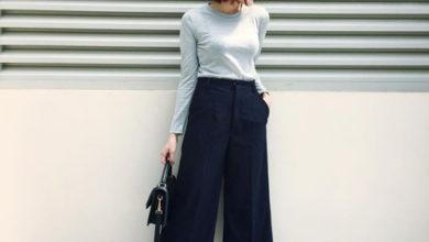 quần culottes, 7 Cách phối đồ với quần culottes dài SIÊU ĐẸP và SIÊU SANG