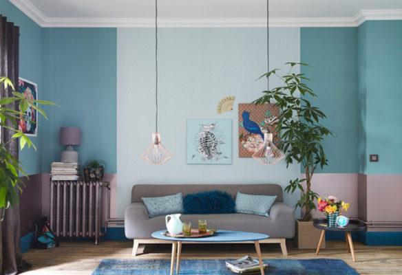 xanh pastel, Đánh bay cái nóng mùa hè với gam màu xanh Pastel cho nhà ở