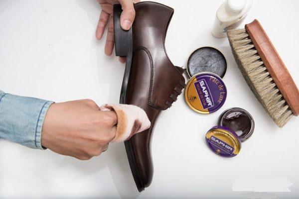 bảo quản giày da
