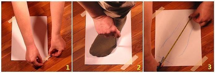 cách chọn size giày nữ