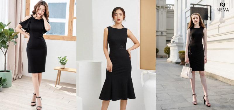 mặc đầm đen mang giày màu gì, Mặc đầm đen mang giày màu gì để trông thần thái và sang trọng?