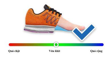 bảng đo size giày nam, Hướng dẫn cách đo size giày thông qua bảng đo Size giày nam