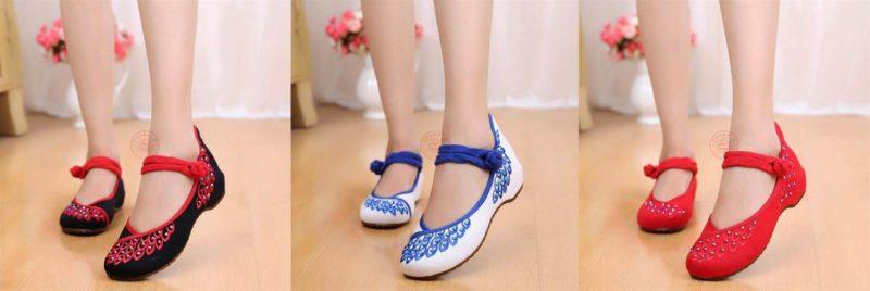 giày thêu, Tham khảo một số nguồn nhập giày thêu hoa Trung Quốc giá sỉ uy tín