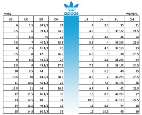 bảng đổi size giày, Hướng dẫn sử dụng bảng đo Size giày và giới thiệu các bảng đo quốc tế