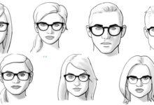 cách chọn kính phù hợp với khuôn mặt, Hướng dẫn chi tiết từ A-Z cách chọn kính phù hợp với khuôn mặt