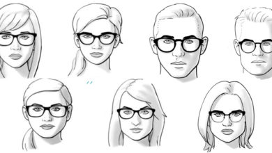 cách chọn kính phù hợp với khuôn mặt