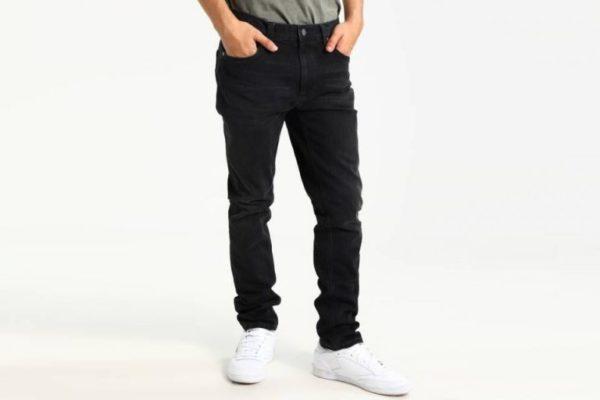 cách phối đồ với quần jean đen nam