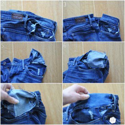 cách sửa quần jean bị chật, Bật mí cách sửa quần Jean bị chật hoặc rộng vừa nhanh vừa đơn giản