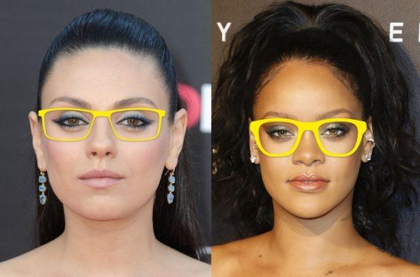 chọn kính phù hợp với khuôn mặt tròn