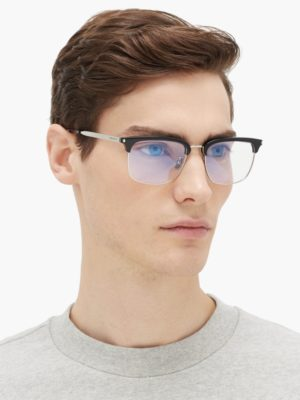 chọn kính theo khuôn mặt, Gọi ý các loại gọng và mẫu kính khi chọn kính theo khuôn mặt cho nam