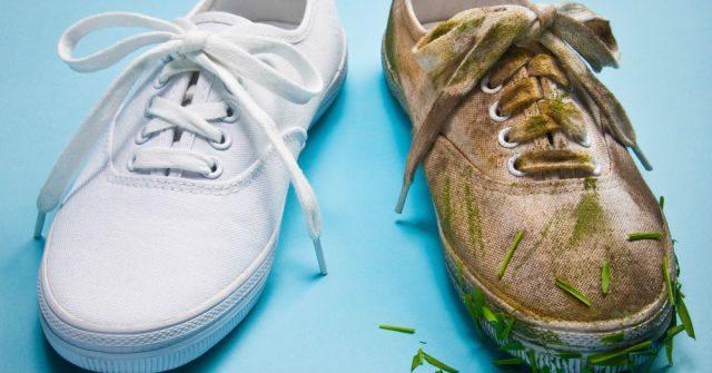 giặt giày trắng, 8 cách giặt giày trắng siêu sạch lại còn nhanh – Bạn đã biết chưa?
