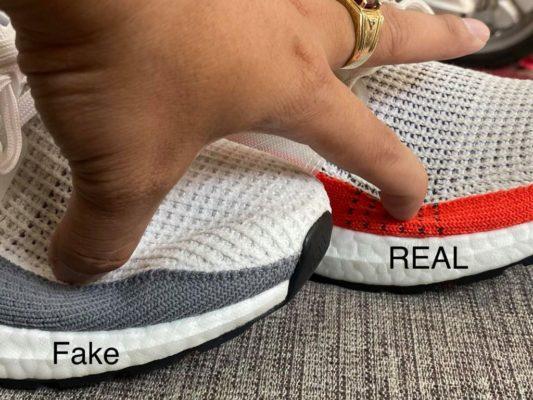 giày adidas ultra boost chính hãng, Hướng dẫn cách nhận biết giày Adidas Ultra Boost chính hãng với Fake