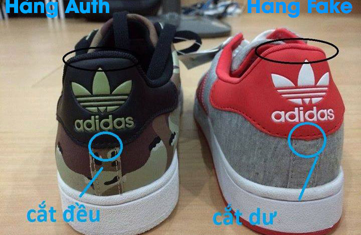giày authentic, Cách phân biệt giày Authentic, Replica và giày Fake chuẩn nhất