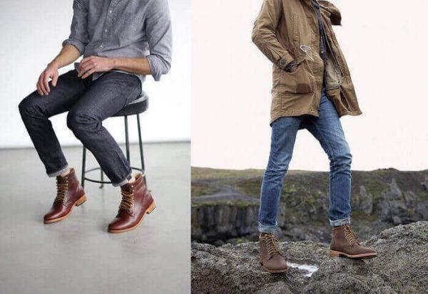 giày nam cao cổ, 5 nguyên tắc phối đồ với giày nam cao cổ không phải ai cũng biết