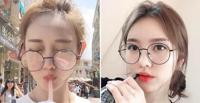 gọng kính cận nữ đẹp 2020