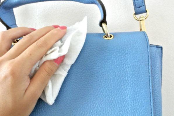 làm sạch túi da, Lo ngại gì vết bẩn trên túi nhờ áp dụng 7 mẹo làm sạch túi da này
