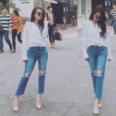 phối giày với quần jean nữ, Bạn đã biết bí quyết để phối giày với quần Jean nữ chưa? Tìm hiểu ngay