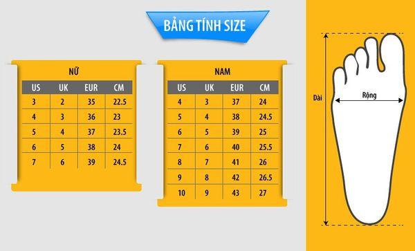 size giày nam us, Bảng đo Size giày nam US và hướng dẫn sử dụng các bảng đo quốc tế