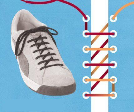 xỏ dây giày, Bật mí 7 kiểu xỏ dây giày cực XỊN không phải ai cũng biết