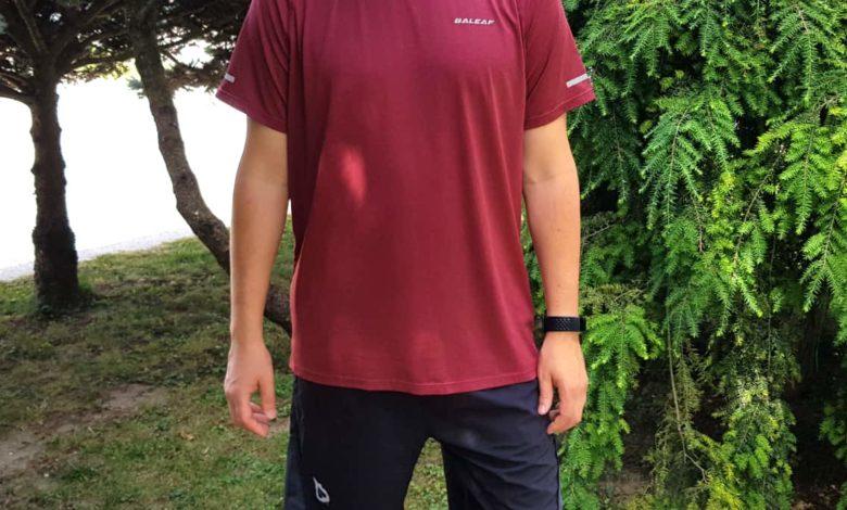 baleaf sports, Đánh giá: Baleaf Running / Workout T-shirt và quần short dành cho nam
