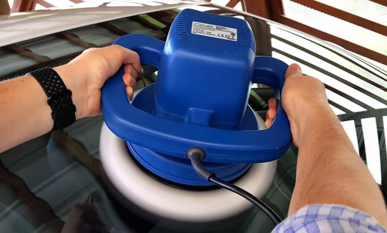 kính chắn gió, Cách dễ dàng loại bỏ vết xước khỏi kính chắn gió