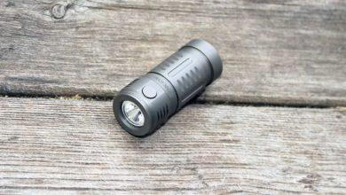 cyan sky m3, Đánh giá: Đèn pin Cyansky M3 Ultra Compact Titanium
