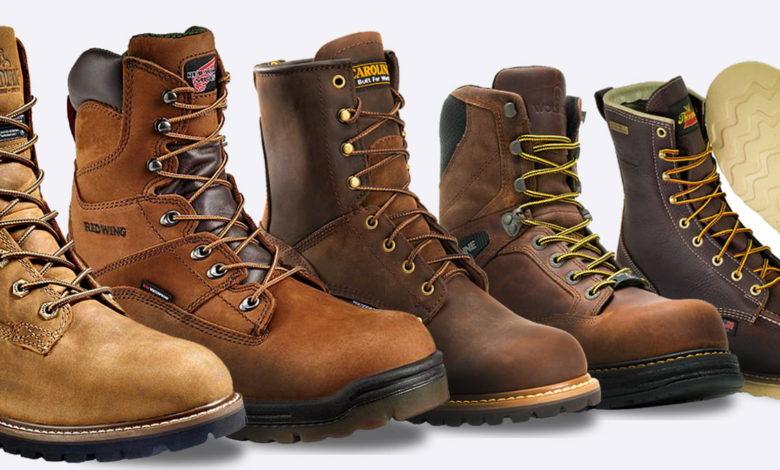 Giày đi làm, 7 khởi động làm việc 8 inch tốt nhất cho mọi loại công việc